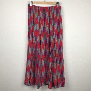 Mara Hoffman Printed Silk Maxi Skirt